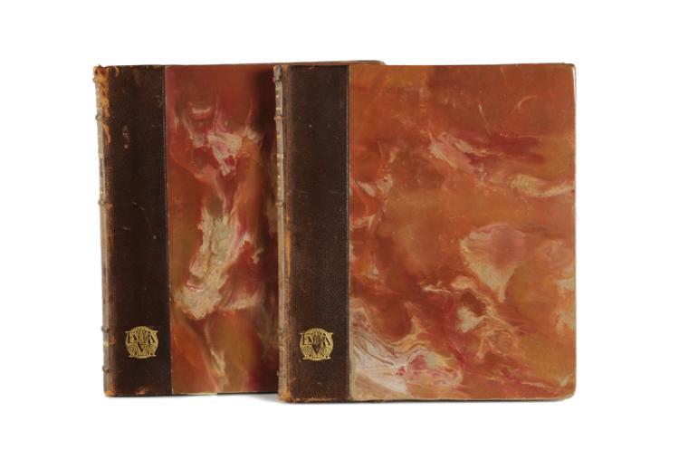 Two books, J.J. Vasselot, 'Musée du Louvre la Cera