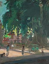 Sindudarsono Sudjojono (1913-1986), 'Pagi di Bawah