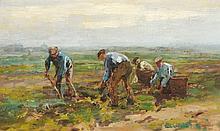 Waalko Jans Dingemans sr. (1873-1925), 'Aardappels