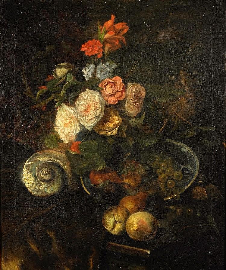 Paul de Laboulaye (1849-1926), 'Stilleven met bloe