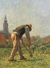Otto Gustav Adolf Kriens (1873-1930), 'Man in tuin