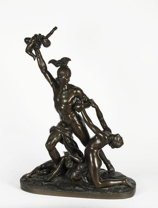 Jan Jozef Jacquet (1822-1898), 'De kindermoord',