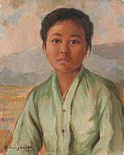 Rudolf Wenghart (1887-1965), 'Indonesian girl',