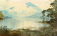 Abdullah Sudjono (1911-1991), 'Lake view', signed lower left, canvas, 60 x