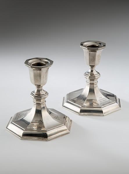 Paar Silberleuchter