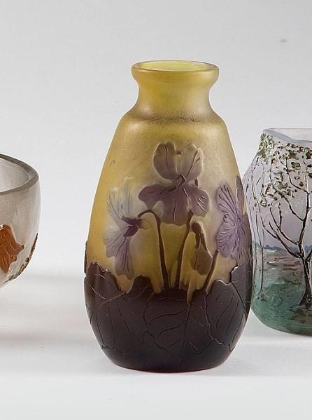 Kleine Vase Gallé