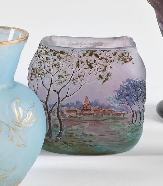 Kleine Vase Legras