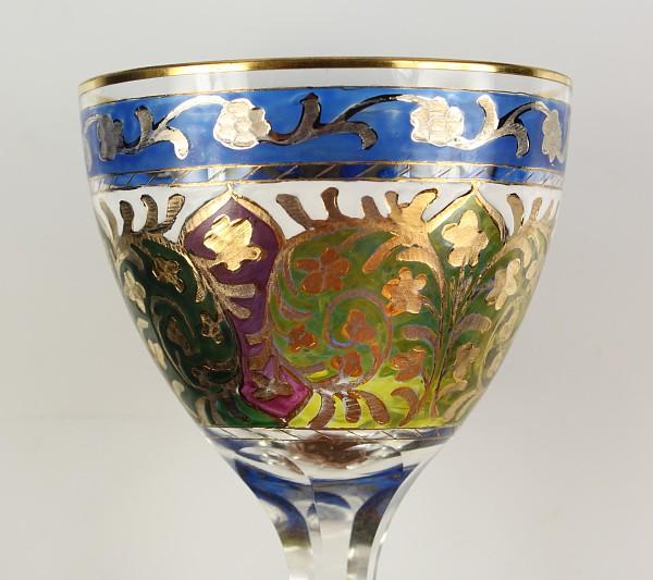 Weinglas der Serie