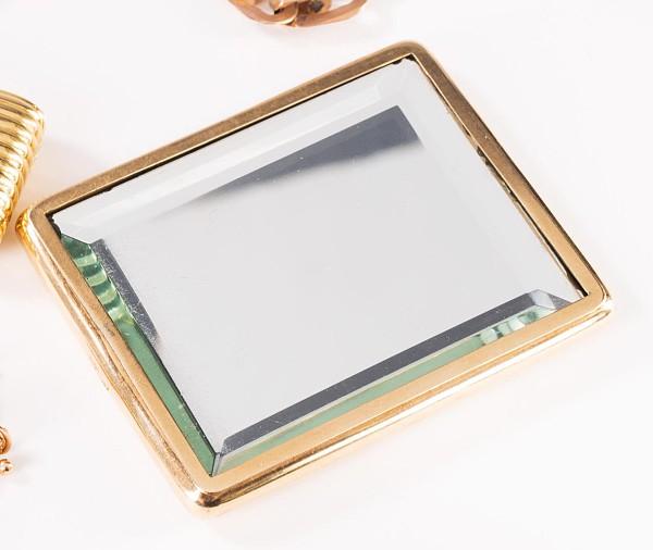Goldener Taschenspiegel,