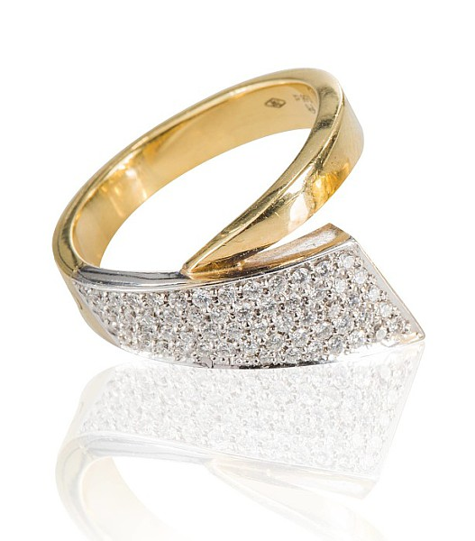 Ring mit Brillanten,