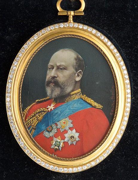 Porträt König Eduard VII.