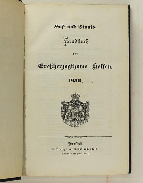 Großherzogtum Hessen-Darmstadt,