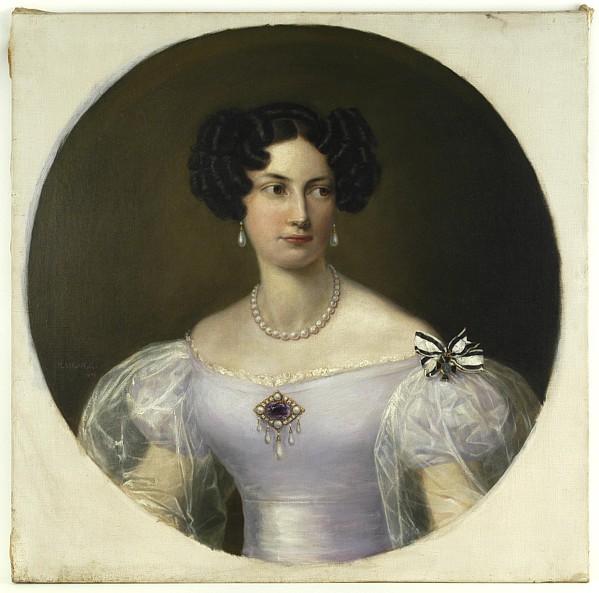 Porträt der Wilhelmine Luise von Preußen,