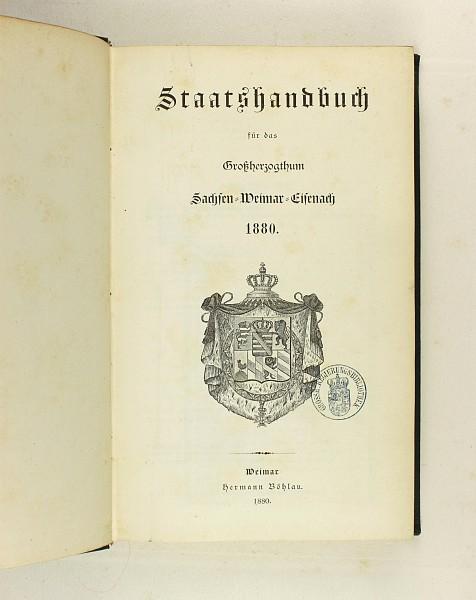 Großherzogtum Sachsen-Weimar-Eisenach,