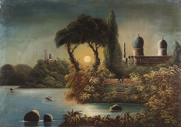 Orientalische Landschaft