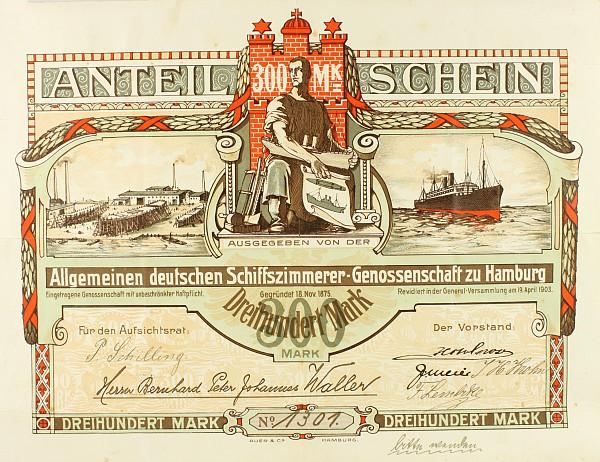 Seltene Aktie Hamburg