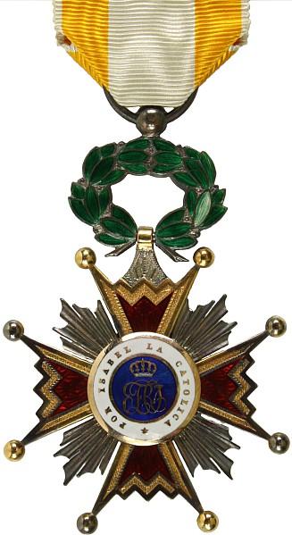 Orden Isabella La Catolica,