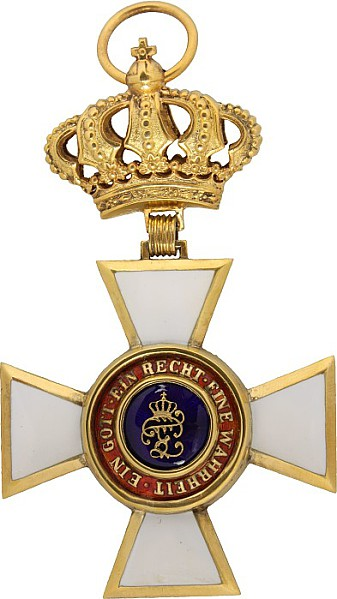 Haus- und Verdienstorden von Herzog Peter Friedrich Ludwig,