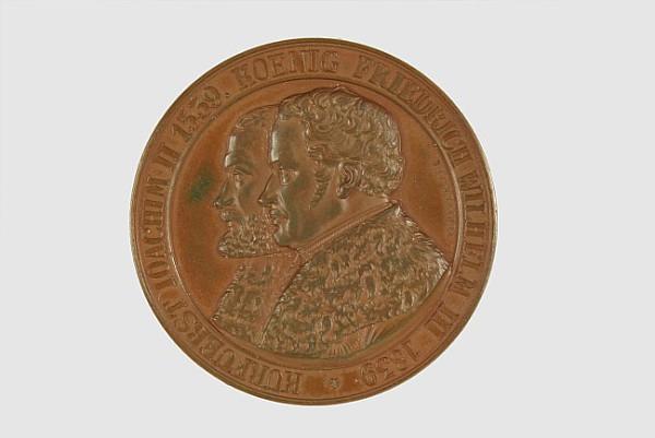 Bronzene Erinnerungsmedaille