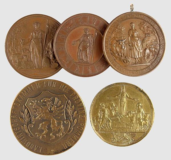 3 Bronzemedaillen