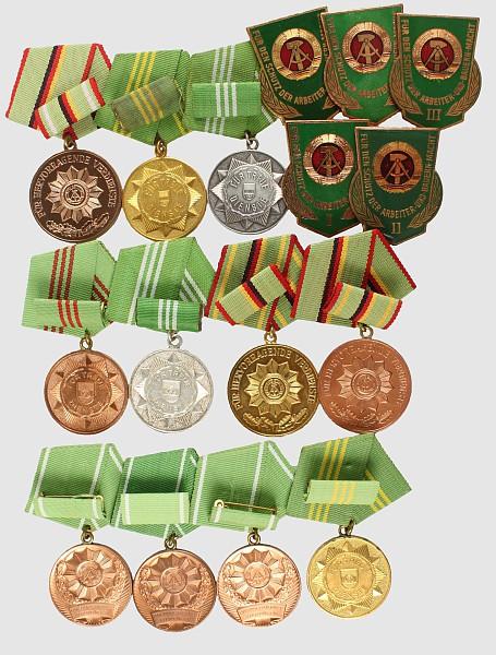 Medaillen für Treue Dienste MdI,
