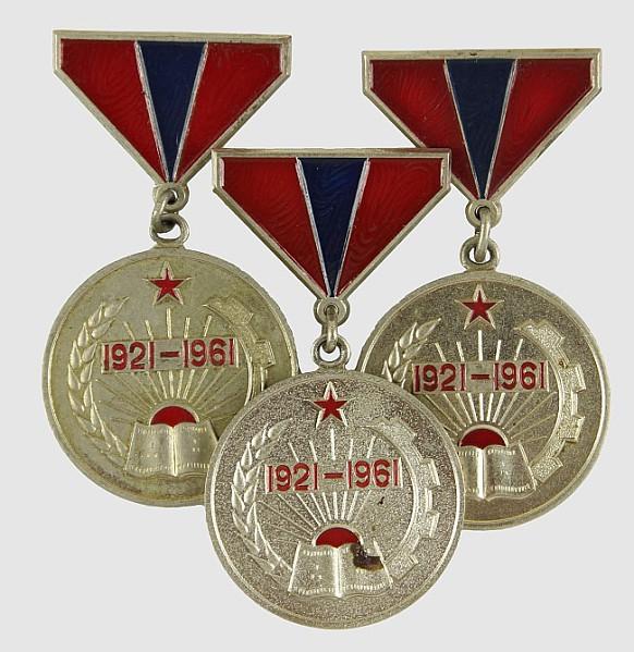 Medaille 40 Jahre