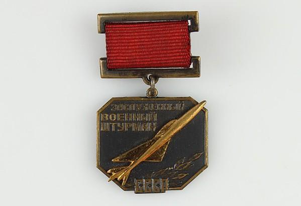 Verdienter Militärnavigator