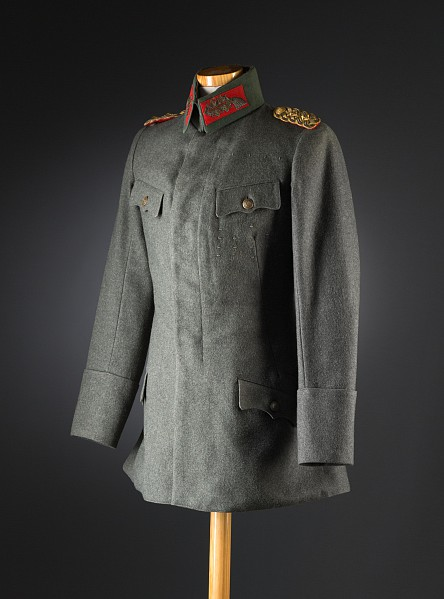 Feldgraue Uniform eines Generaloberst