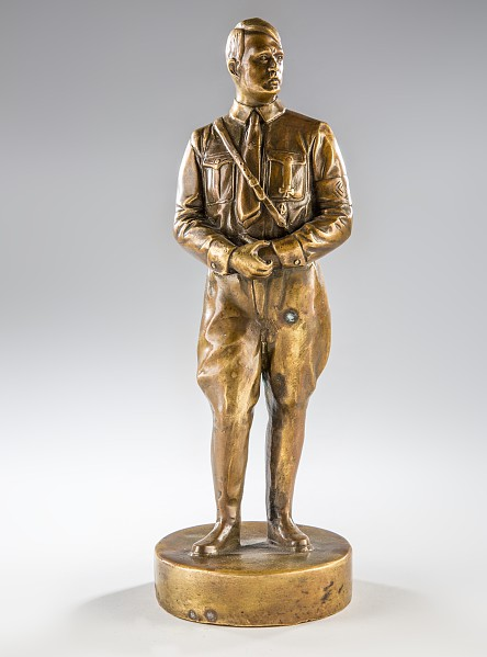 Bronzefigur Adolf Hitler,