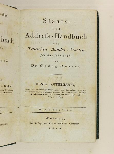 Staats- und Adress-Handbuch