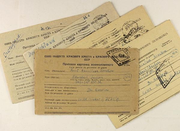 5 Kriegsgefangenenpostkarten
