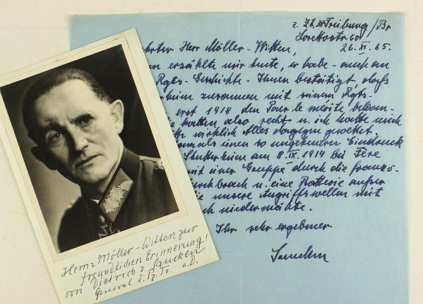 Saucken, Dietrich von.