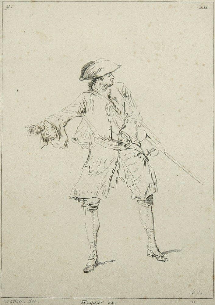HUQUIER, Gabriel (1695-1772),