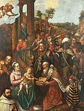 AACHEN, Hans von (1552-1615), Werkstatt/Schule, ''Anbetung der Heiligen Dre