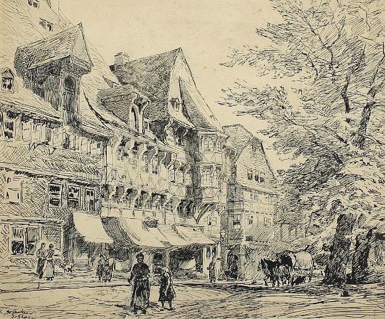 HACKER, Georg (Düsseldorfer Landschafts- und