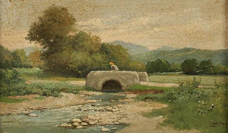 ZORKOCZY, Gyula Julius (ungarischer Maler, 1873