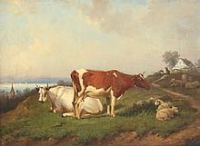 DITTMANN Edmund (tätig 1856-1876) ''Landschaft mit