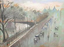 KARDORFF Konrad von (1877-1945) ''Straßenszene in