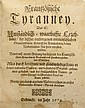 SET OF POLITICAL DOCUMENTS Germany, 1674-1686. Set