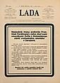 "SARAJEVO ASSASSINATION 1914. Title page of ""Lada"