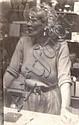 Miroslav Tichý (1926-2011) WOMAN BEHIND THE