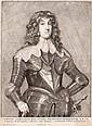 Václav Hollar (1607-1677). PORTRAIT OF CHARLES