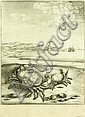 Václav Hollar (1607-1677). ILLUSTRATION TO EROP'S, Wenceslaus Hollar, Click for value