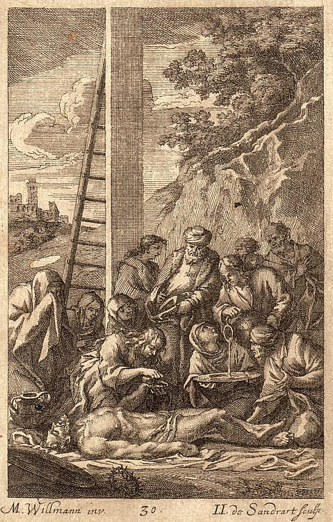 Melchior Küsell (1626-1683), Michael Willmann