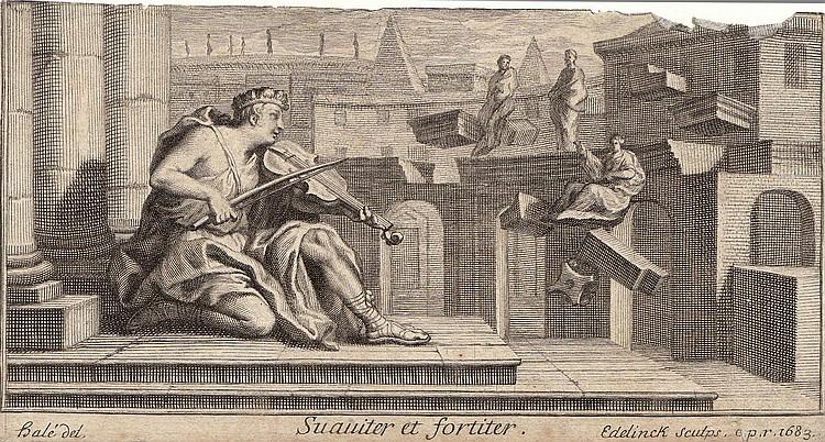 Gerard Edelinck (1640-1707), Melchior Küssel