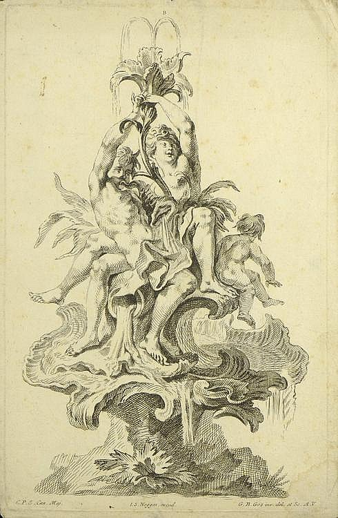 Gottfried Bernhard Goetz (1708-1771), Johann Simon