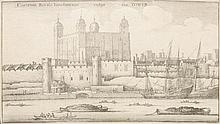 Václav Hollar (1607-1677) TOWER OF LONDON.