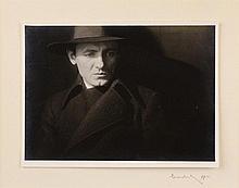 Josef Sudek (1896-1976) A PORTRAIT OF A MAN. 1930.