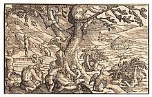 Christoffel von Sichem (1546-1624) FLOOD. Biblical