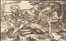 Christoffel von Sichem (1546-1624) CAIN AND ABEL.
